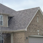 New Roof With Asphlat Shingles