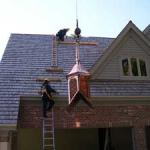 Ornamental Roof Installation