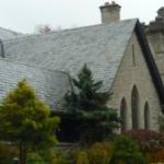 Slate Tile Roof Install