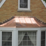 Cooper Standing Seam Over Window