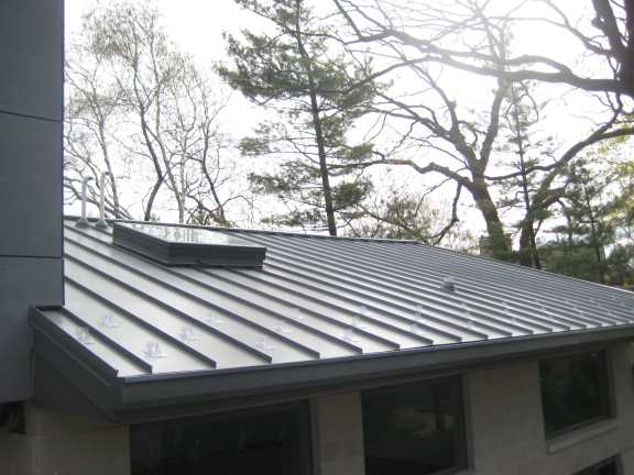 Chicago Standing Seam Roofing Company Call 847 906 0993